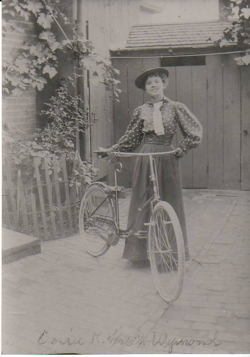 Carrie Kirsch bicycle