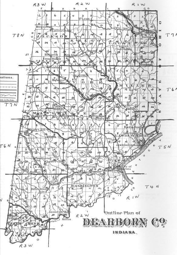 Dearborn map