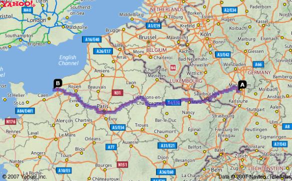 Mutterstadt LeHavre map