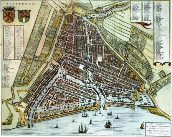 Rotterdam map