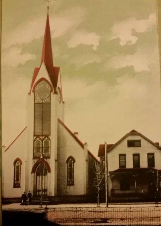 Drechsel St, John postcard crop