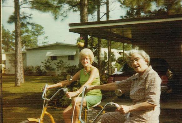 Eloise and Mildred in Florida