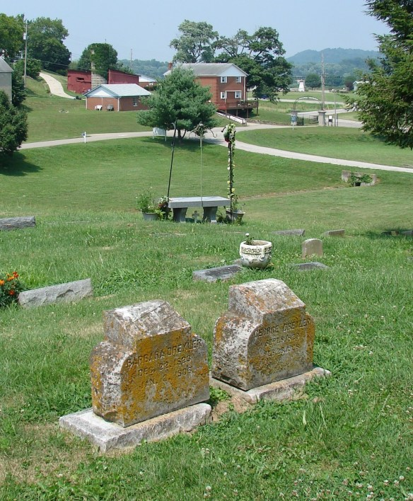Funeral Barbara Drechsel cemetery