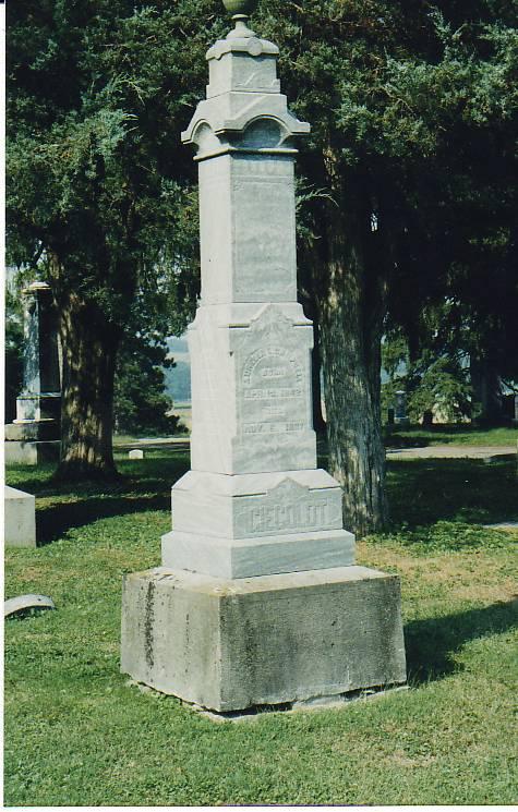 Giegoldt monument