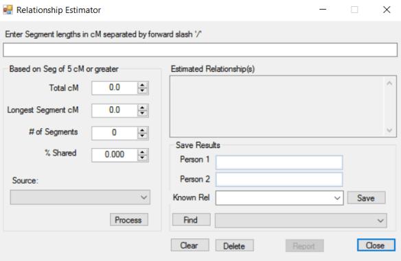 relationship estimator