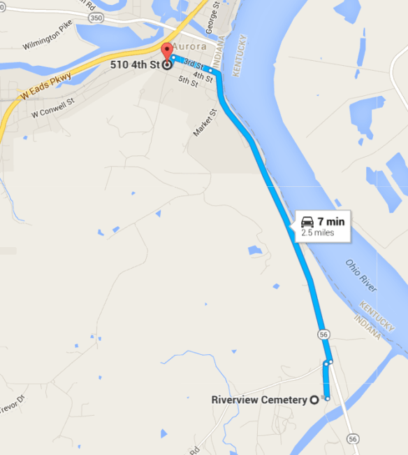 Riverview map