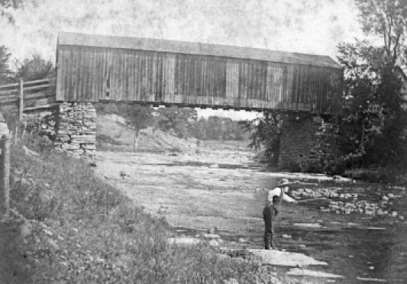 Starksboro covered bridge