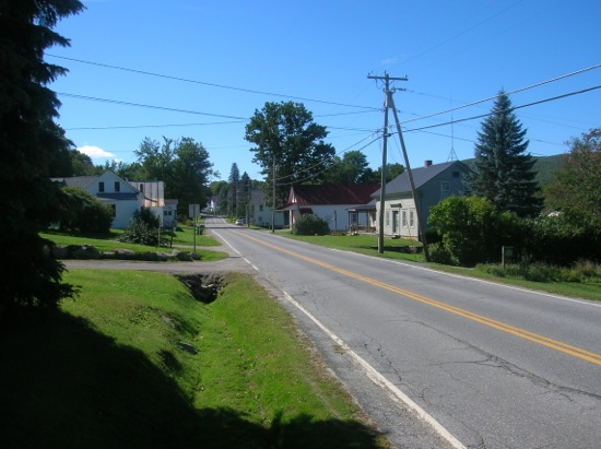 Starksboro, Hill store on left