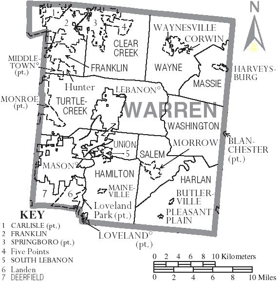 Hamilton twp map