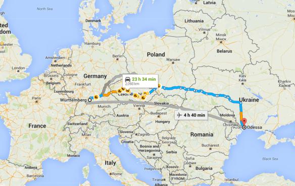 Emigration Odessa
