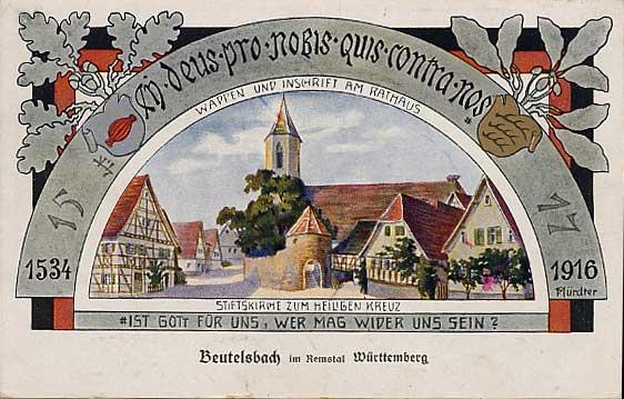 Fredericka Beutelsbach postcard