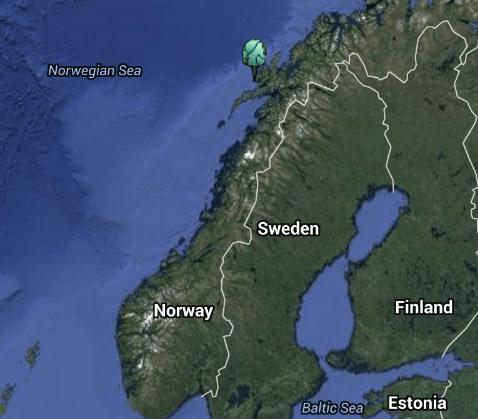 Fredericka Shipwreck Norway