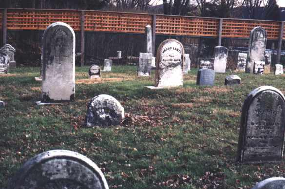 Lentz, Jacob-Fredericka graves from Steve-a