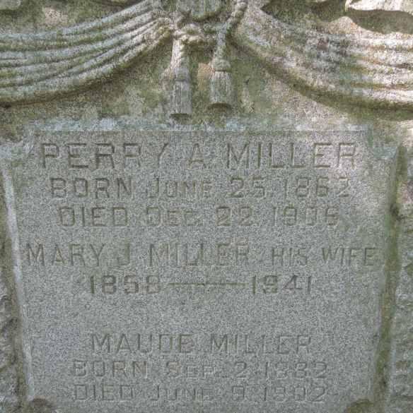 Margaret Lentz Perry Miller stone