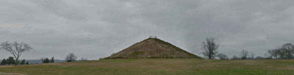 Catharina Schaeffer mound today