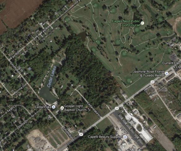 Daniel Miller Barrett land Clermont satellite
