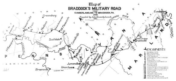 braddocks-military-road