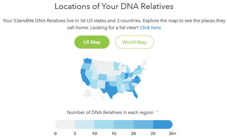 "23andMe's ""Your DNA Family"" Feature 