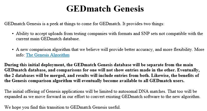 2017 gedmatch genesis   DNAeXplained – Genetic Genealogy