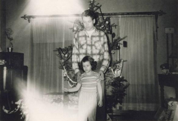 Roberta Christmas age 4 grandmother's house