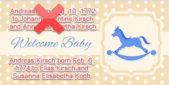 Andreas Kirsch revised birth