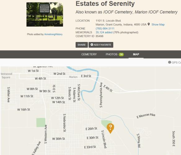 Henry Ferverty cemetery