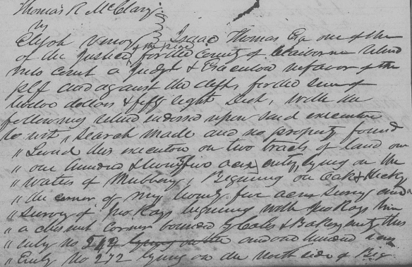 Elijah Vannoy 1834