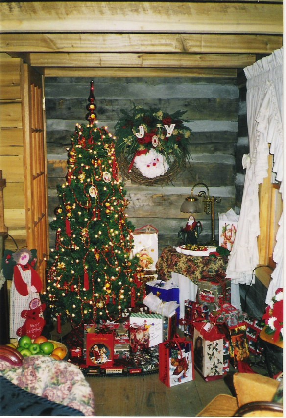 Nicholas Speaks cabin Christmas.jpg