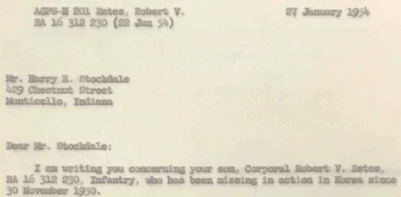 Robert Vernon Estes record 42