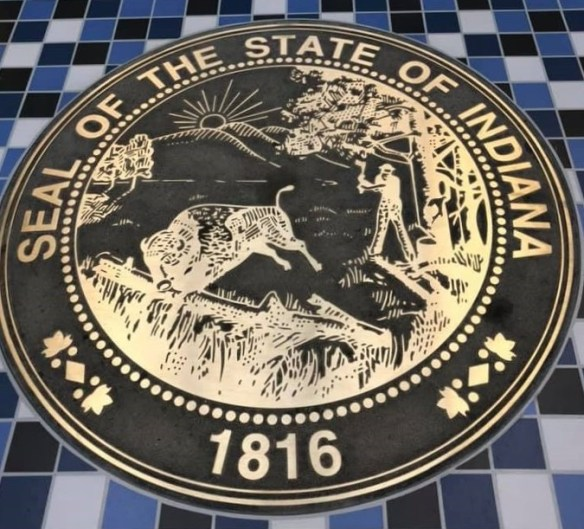 State of Indiana seal