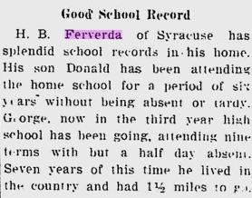 Hiram Ferverda 1911 attendance.png