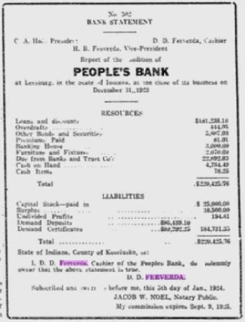 Hiram Ferverda 1924 bank.png