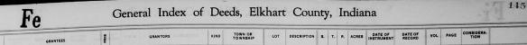 Hiram Ferverda Elkhart deed index.png