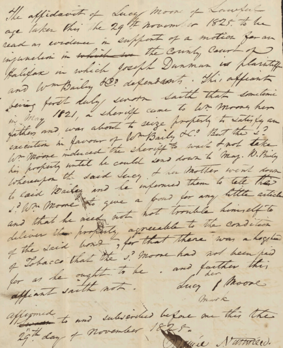 Lucy Moore 1825 deposition.png