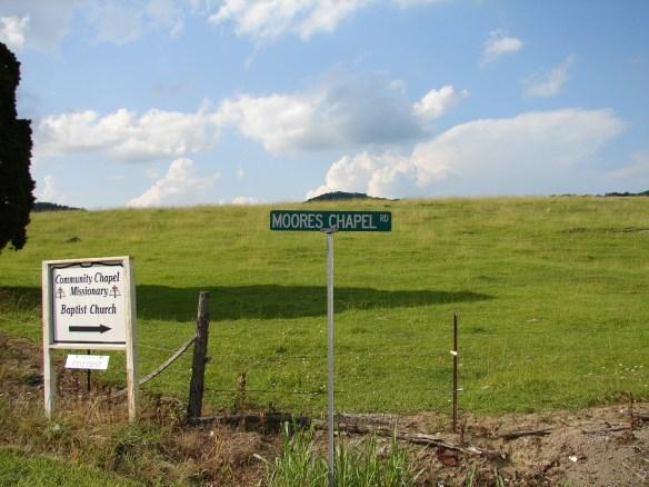 James Moore Moore's Chapel Road.jpg