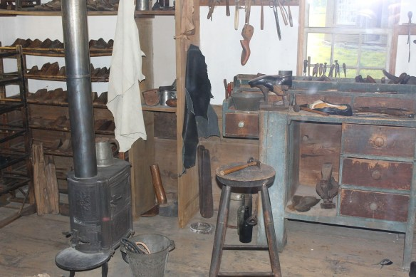 Rachel Rice shoemakers workshop