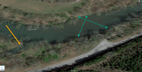 Michael McDowell 4 Mile Creek mouth.png