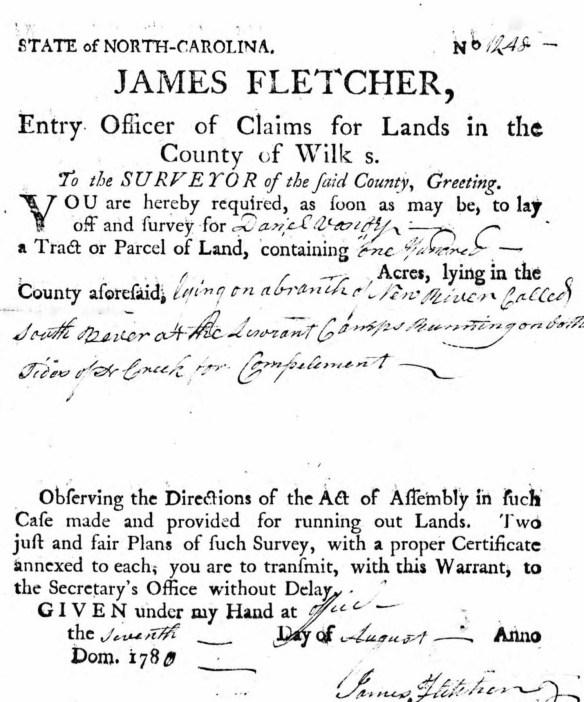 Daniel Vannoy 1780 survey.jpg