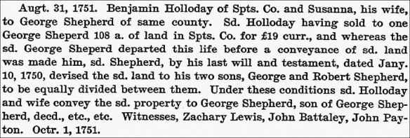 Shepherd Spotsylvania Holloday land purchase.png