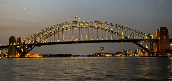 Australia Sydney night bridge.png