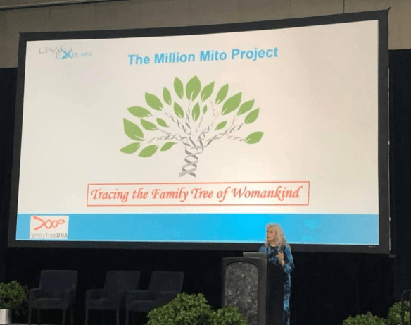 RootsTech 2020 Million Mito