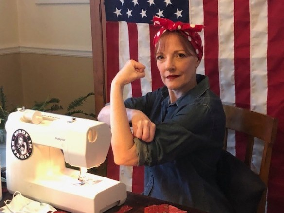 Pandemic Rosie Riveter