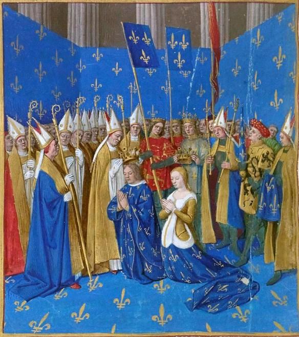 Blanche coronation Reims
