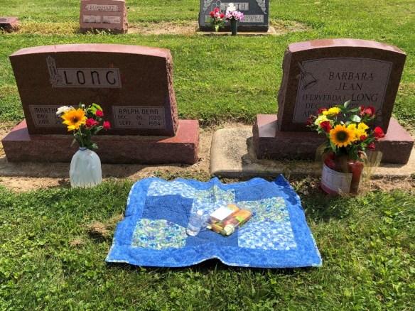 Memorial cemetery picnic