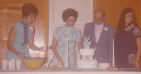Dad Mom wedding me Karen