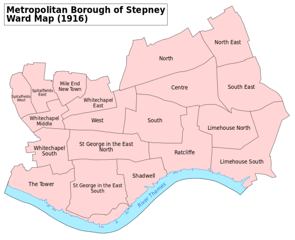 Bolton Stepney map