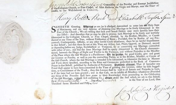 Bolton Taylor license