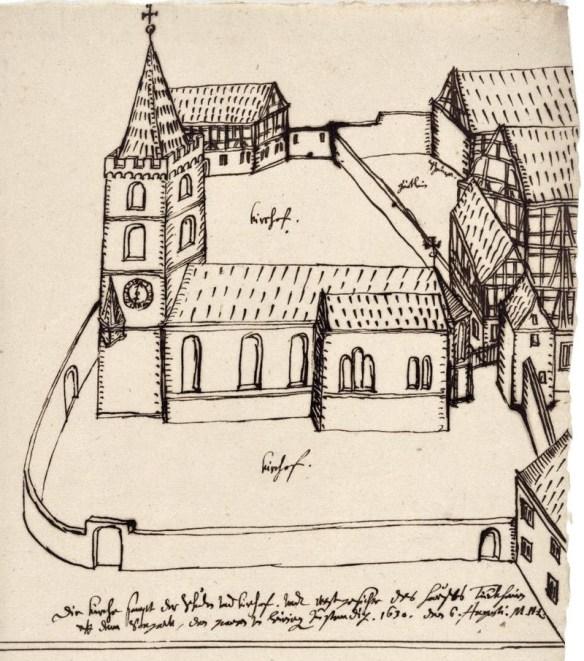 Borstler St Johannis Church Durkheim