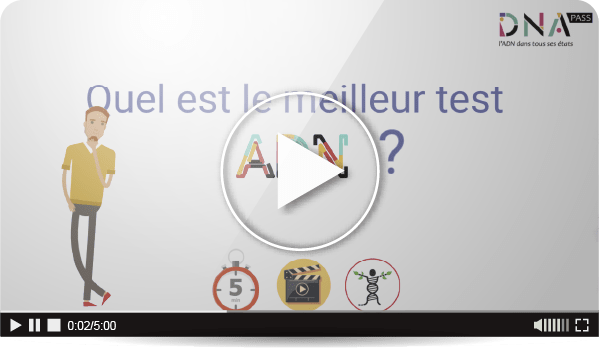 Quel est le meilleur test ADN ? Vidéo de 5mn