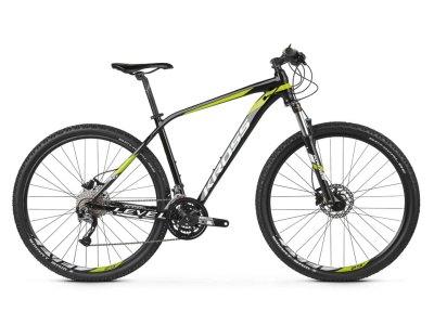 Bicicleta Montanha Kross Level 3.0 Preto-Lima 29''